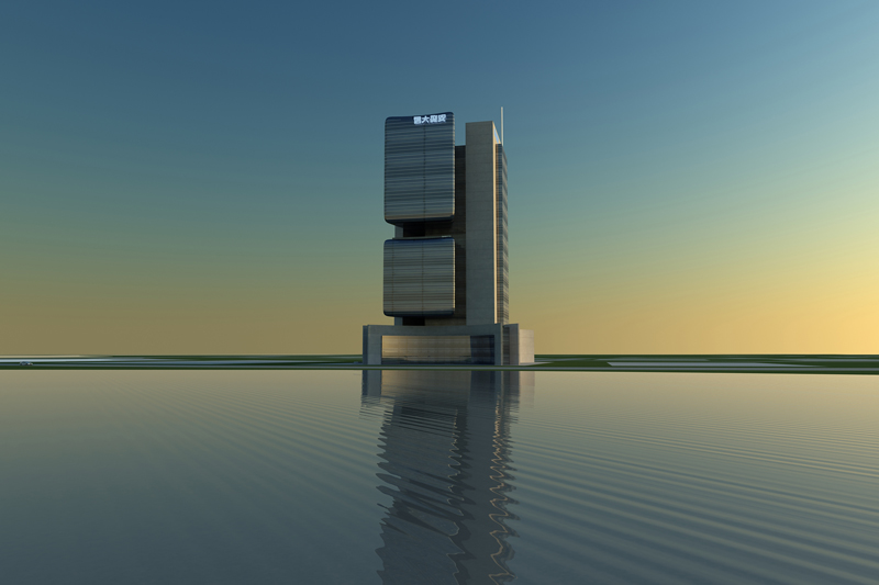 Research office for Office building design concepts
